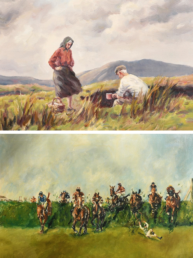 Morgan O'Driscoll - Last Chance to Bid! - Irish Art Online Auction Ends Tonight Between 6.30pm & 9.30pm