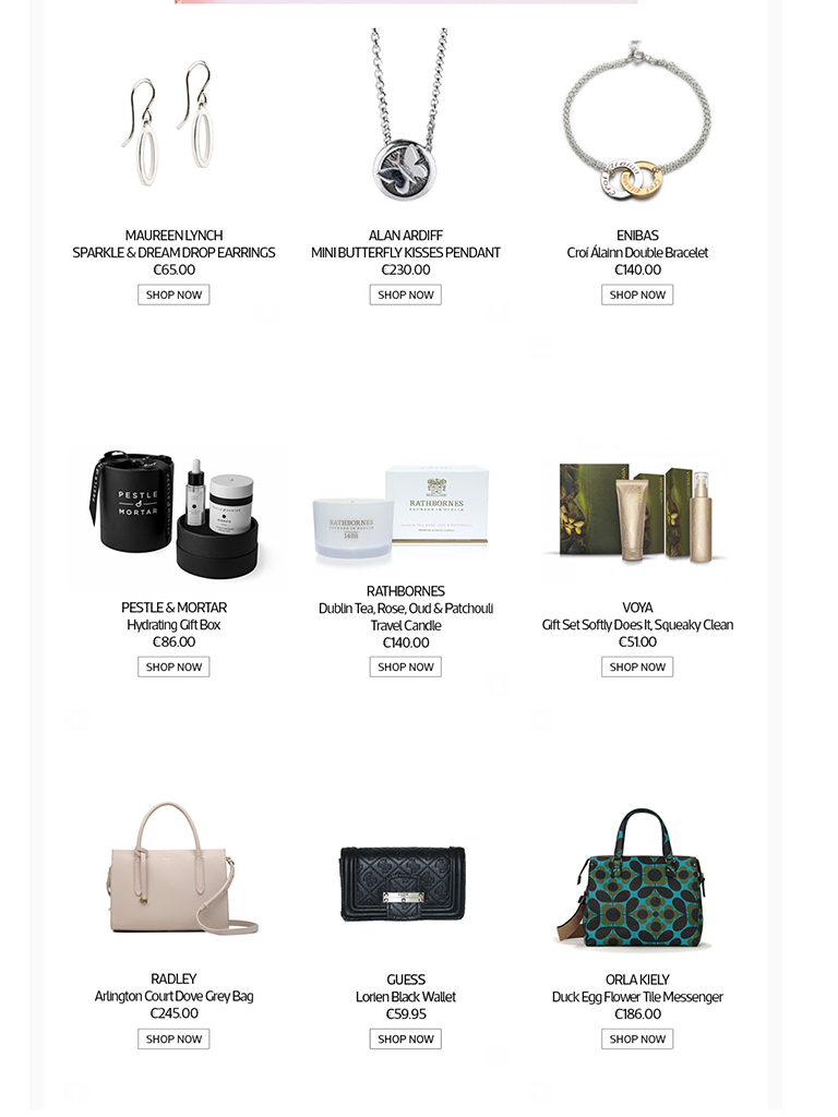 Kilkenny Shop - Gifting inspiration for Mother's Day