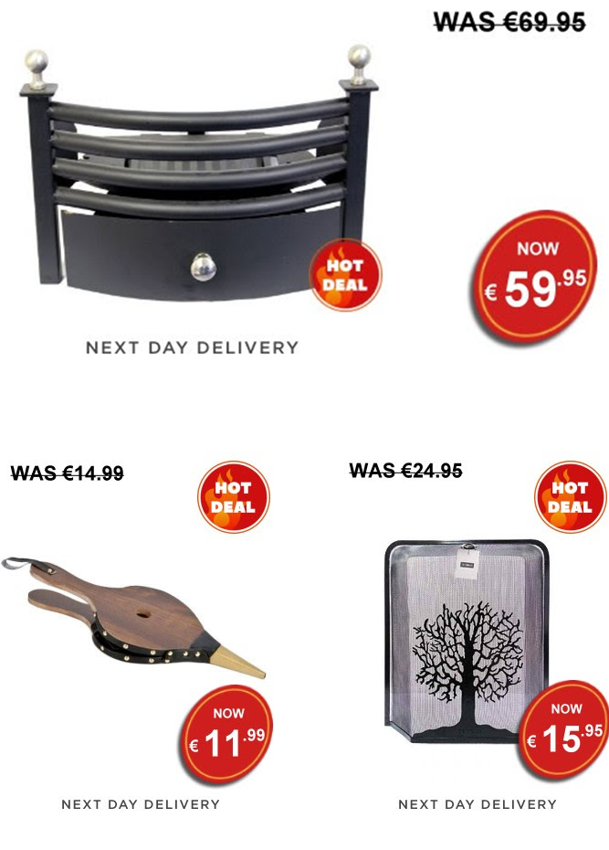 Lenehans - Fire Accessories Clearance at Lenehans.ie