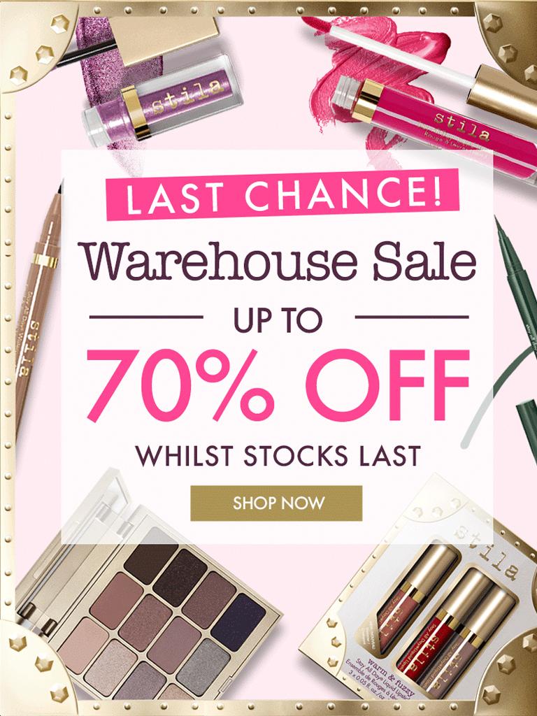 Stila UK - FINAL CHANCE: Save up to 70% on Stila Cosmetics!