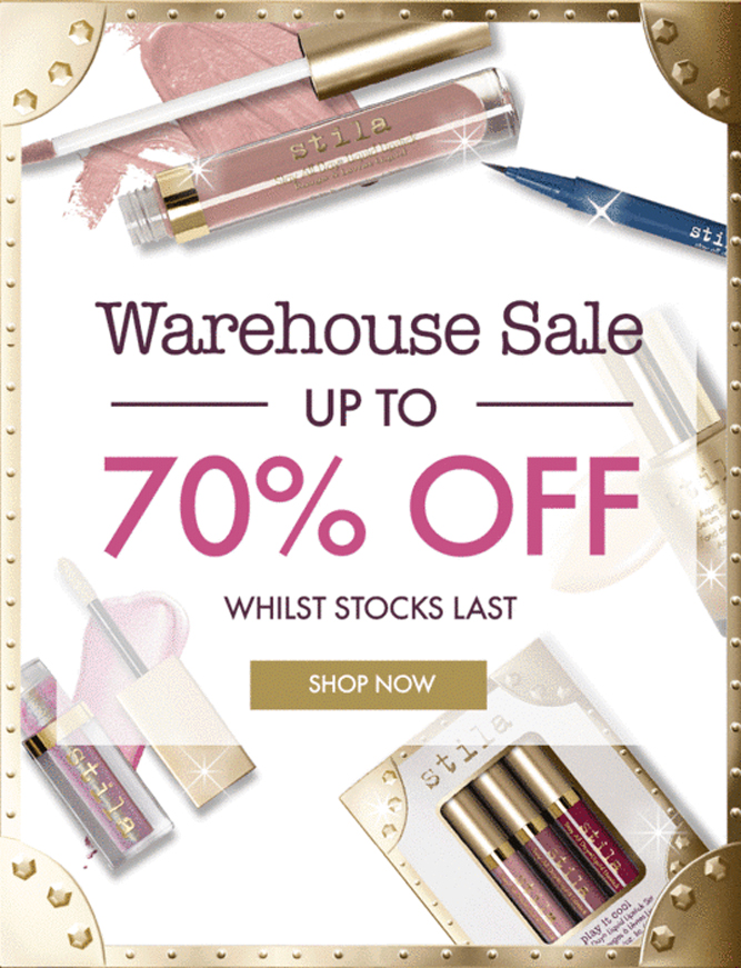 Stila UK - Our Biggest Ever Sale! Save up to 70%