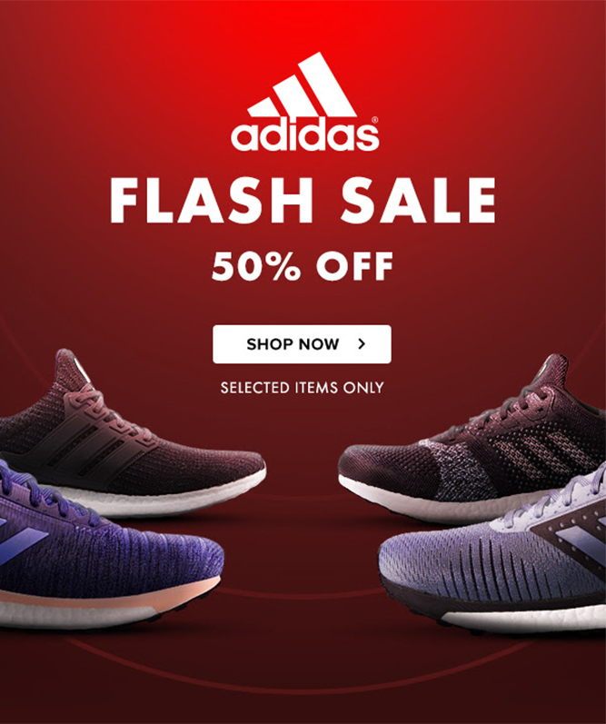Runners Need - Adidas flash sale: 50% off shoes