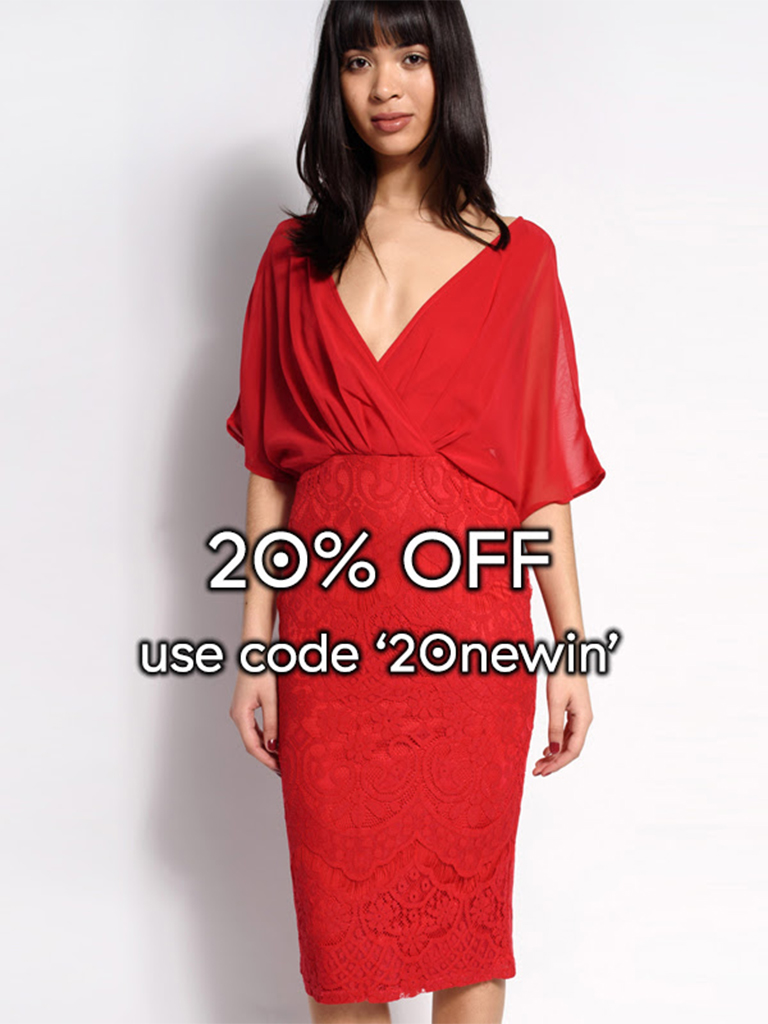 Dresses.ie - Celebrate the bank hol with 20% OFF all new in!
