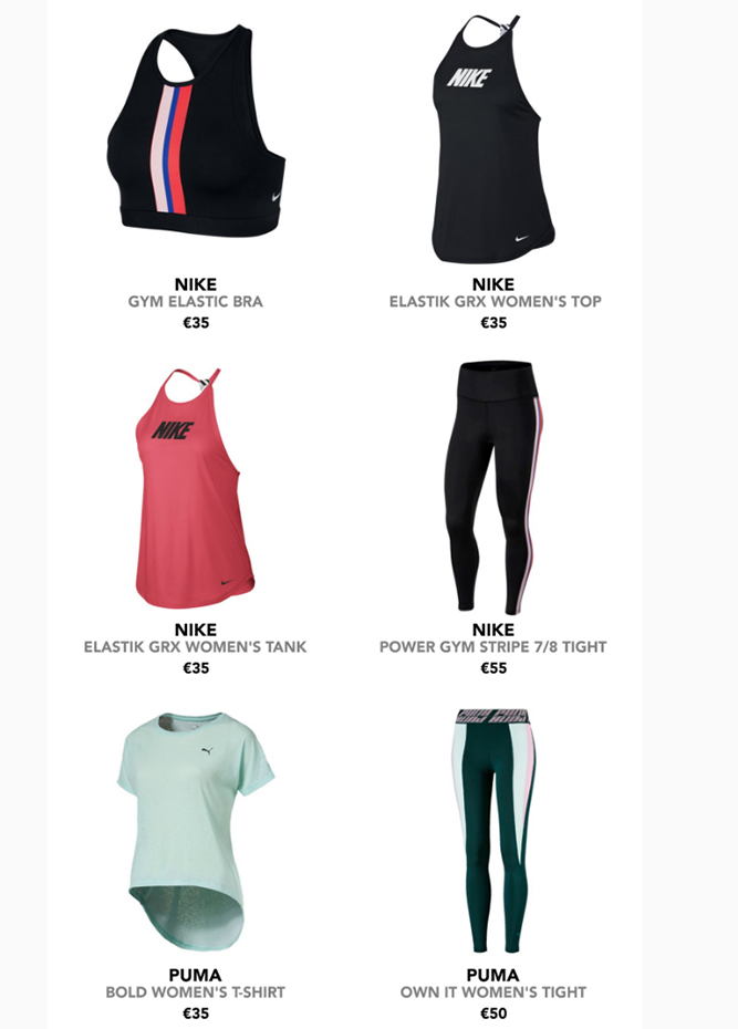Intersport Elverys - Yoga and Pilates - Exercise freely with the new ranges!