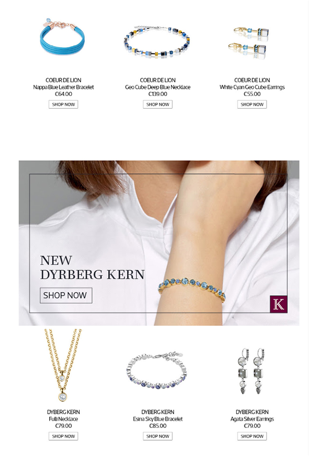 Kilkenny Shop - New Jewellery