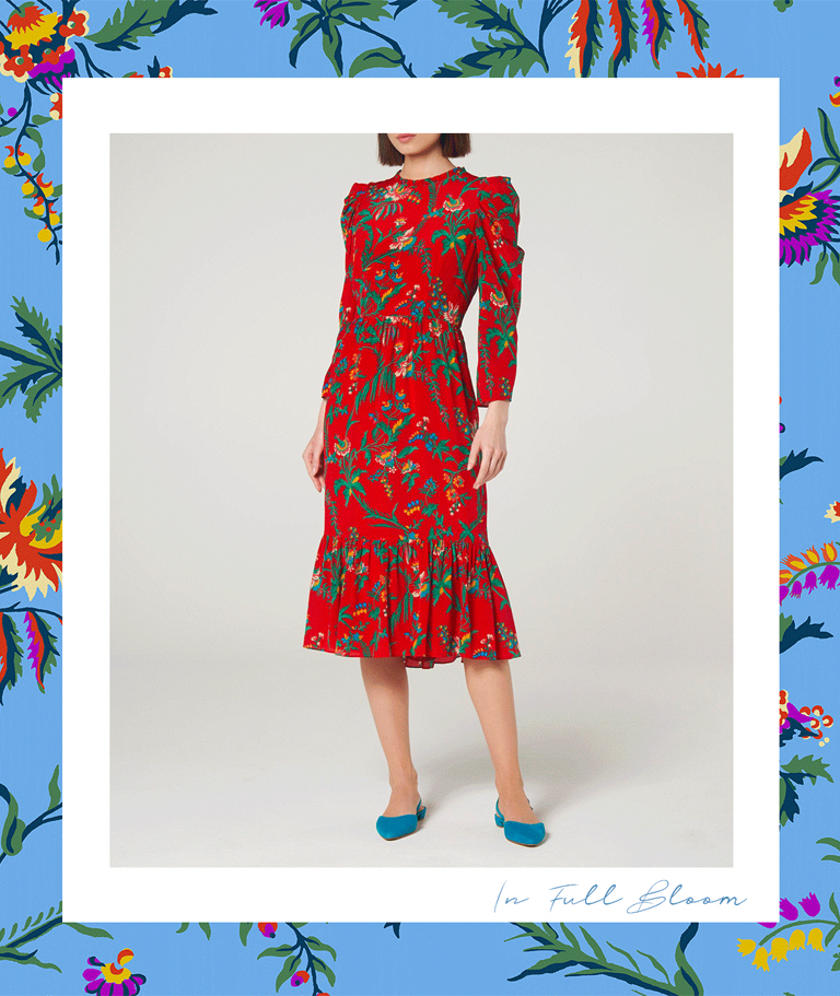 L.K.Bennett- Meet Our New Spring Print: Wildflower