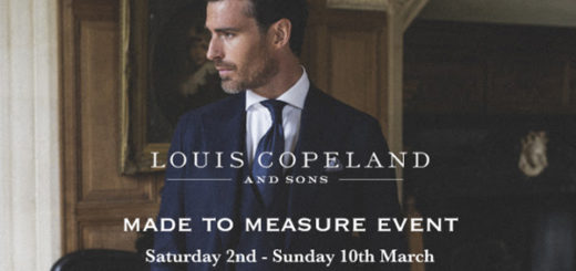 louis copeland & sons – don't miss the made to measure event – buy one suit get one half price
