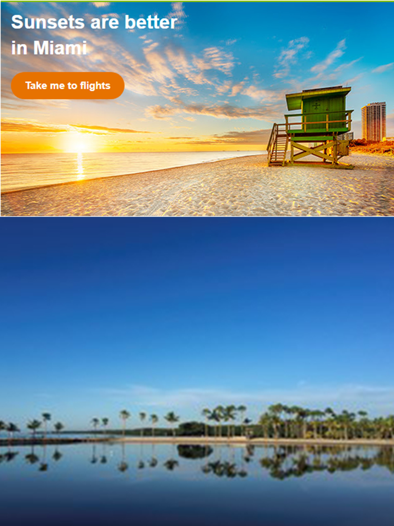Aer Lingus - Dreaming of the beach? Fly to Miami