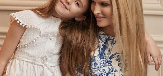 oscar de la renta – match your mini: shop mommy & me looks