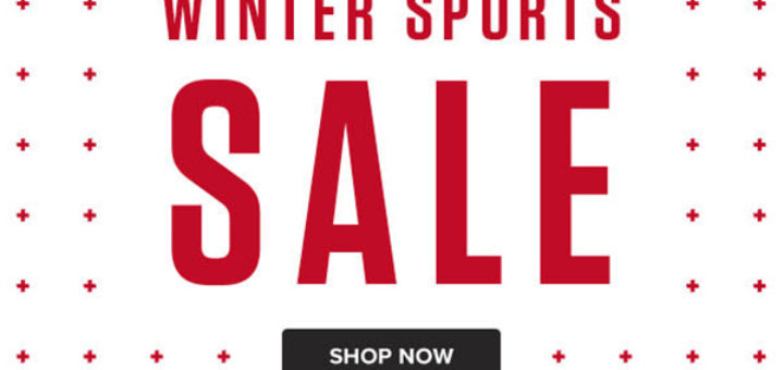 snow and rock – winter sports sale – up to 25% off