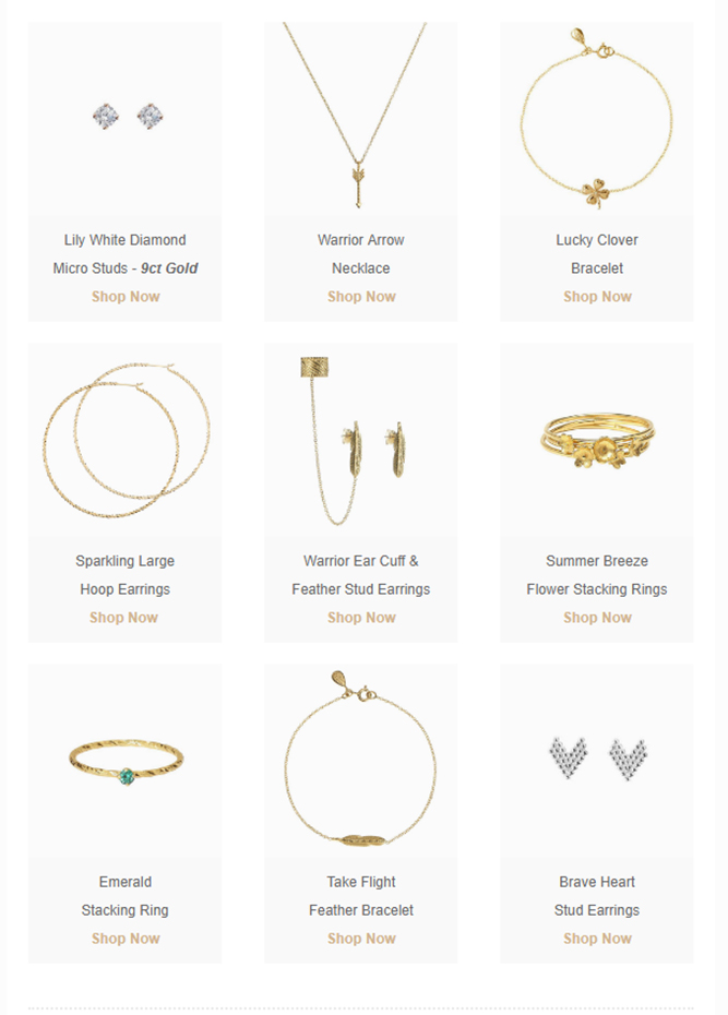 Phoebe Coleman Jewellery - Our go-to Spring favourites