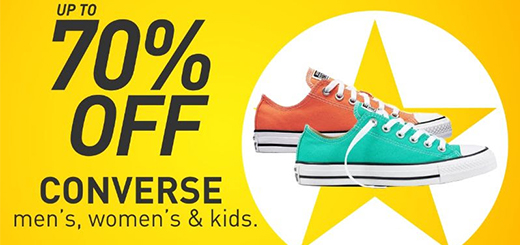 Intersport Elverys - Up to 70% Off Converse SALE!