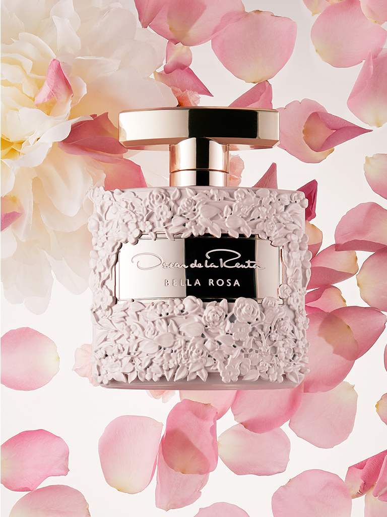 Oscar de la Renta - Introducing Bella Rosa, Oscar de la Renta's New Fragrance