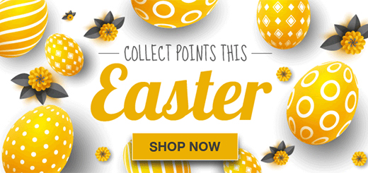 Rewards4Racing - we've got some eggcellent points deals this Easter!