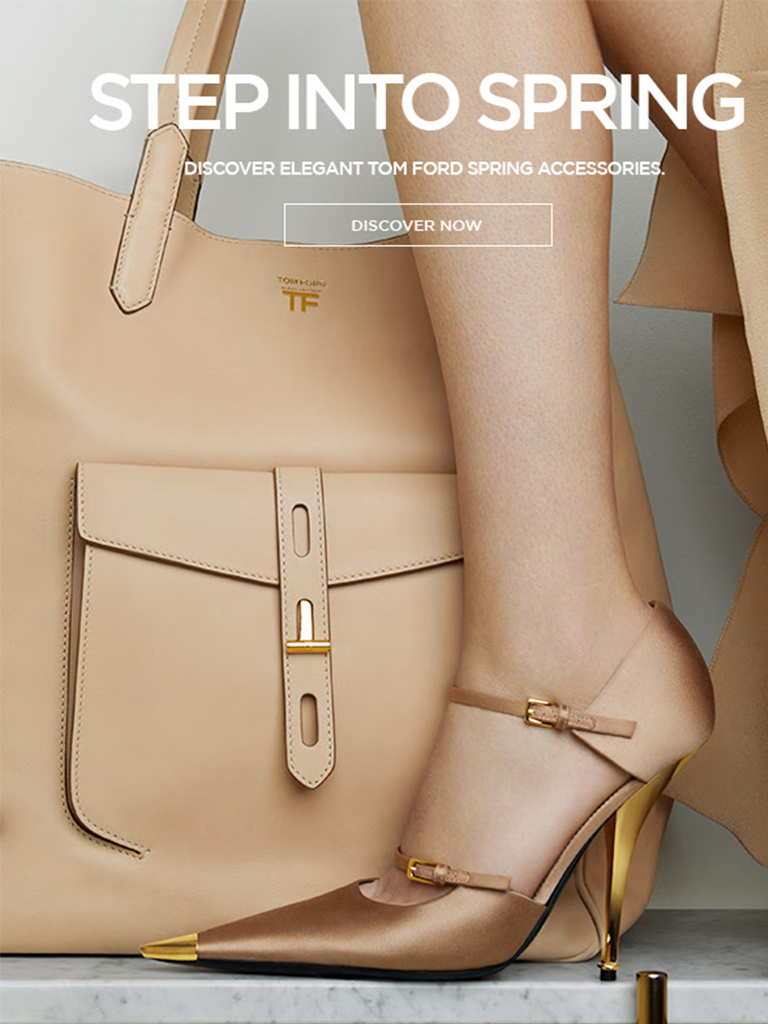 TOM FORD - STEP INTO SPRING