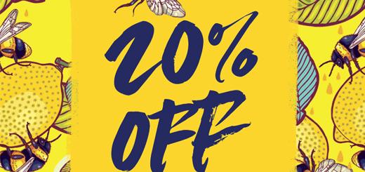 redbubble – 20% off sitewide. shop shop a doo bop