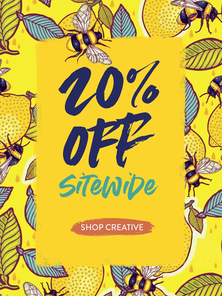 Redbubble - 20% off sitewide. Shop shop a doo bop