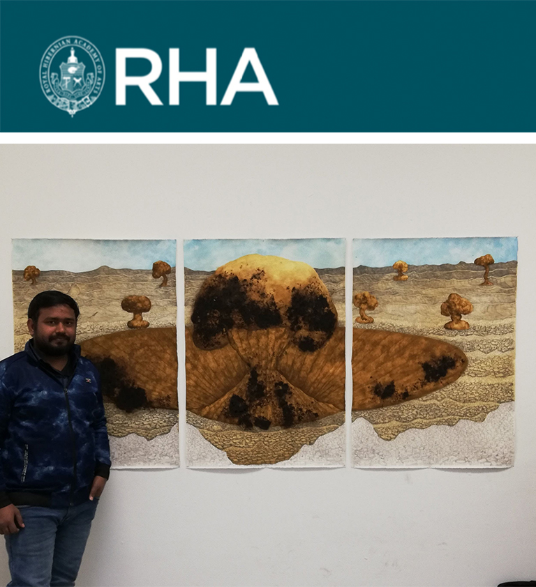 RHA - RHA Open Studio Invitation - Ravi Chaurasiya