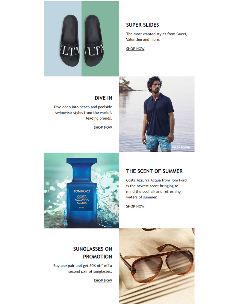 Brown Thomas - The menswear holiday update