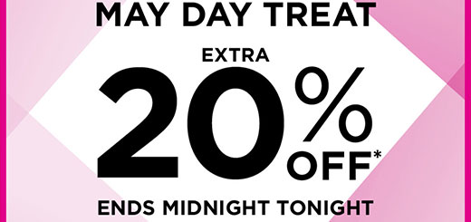 House of Fraser - Spoiler alert! Early Bird May Day special ends midnight tonight