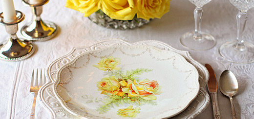 In Good Taste - How to (Properly) Set a Table