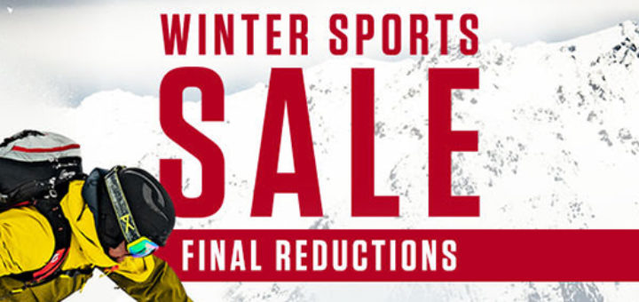 snow and rock – don't miss out! winter sports sale – final reductions