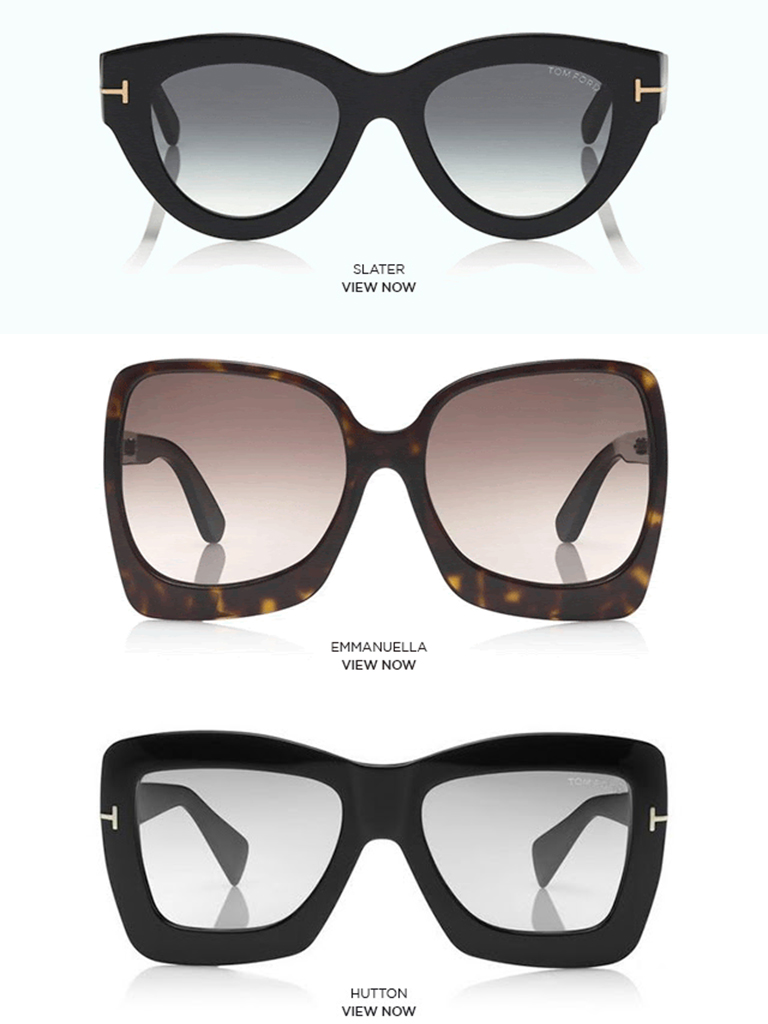 TOM FORD - SS19 WOMEN'S EYEWEAR