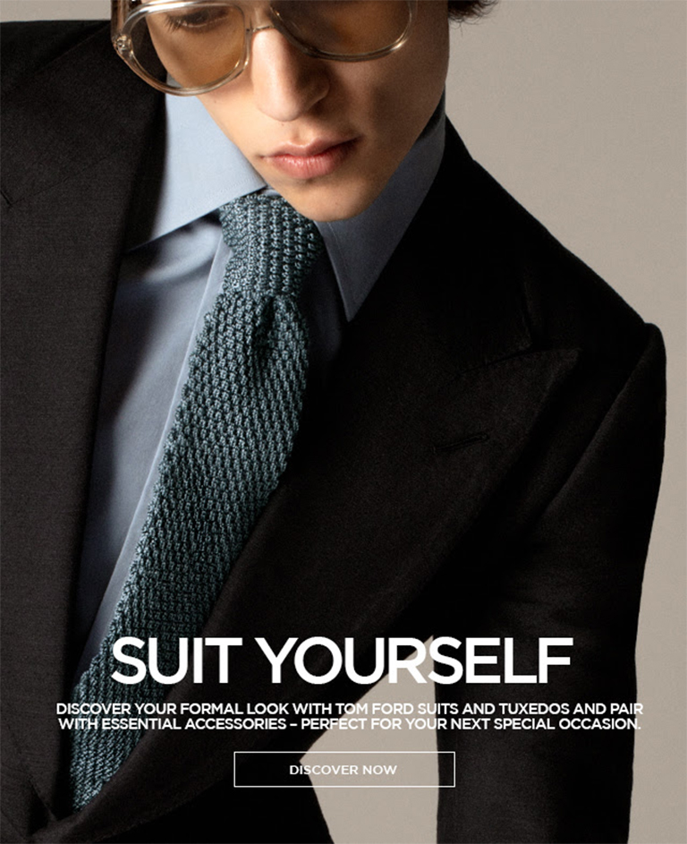 TOM FORD - SUIT YOURSELF