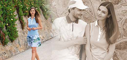 GOLFINO News - Outfits of the Month: Radiant beautifully through the summer