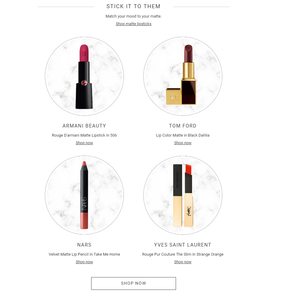 Harvey Nichols - New lips – matte or glossy, we got you