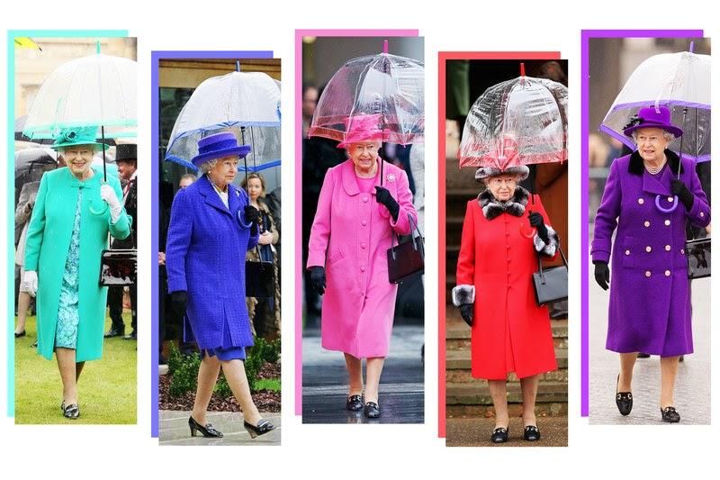 The Queen's 100 Umbrellas