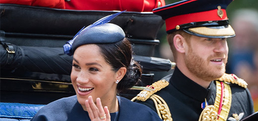 royal watch – meghan markle makes her first public appearance since giving birth