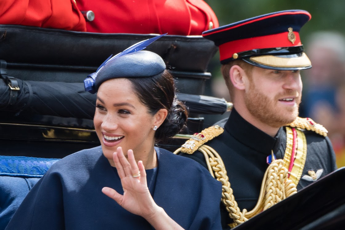 Royal Watch - Meghan Markle Makes Her First Public Appearance Since Giving Birth