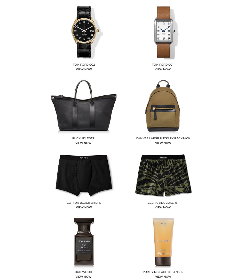 TOM FORD - GIFTS FOR HIM - FATHER'S DAY