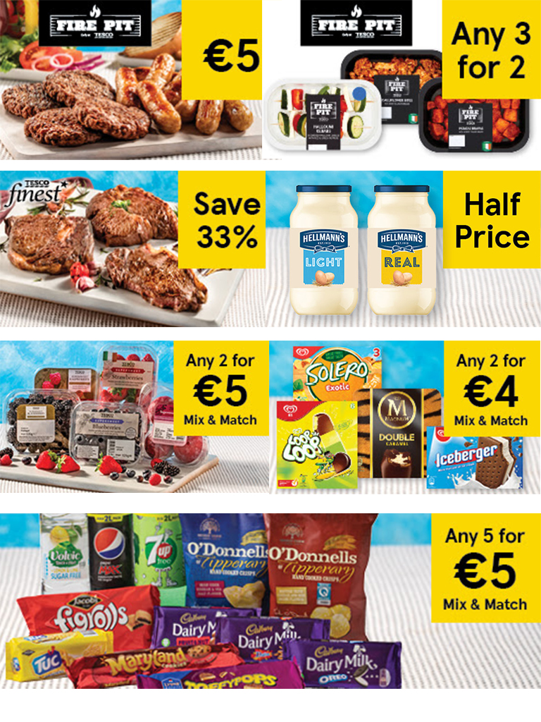 Tesco Ireland - Scorching hot deals (whatever the weather)