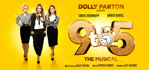 bord gáis energy theatre – tumble outta bed and stumble to see louise redknapp and amber davies in 9 to 5 the musical!