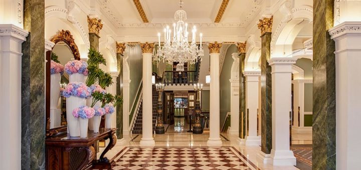 an evening of style, beauty and bubbles at the shelbourne