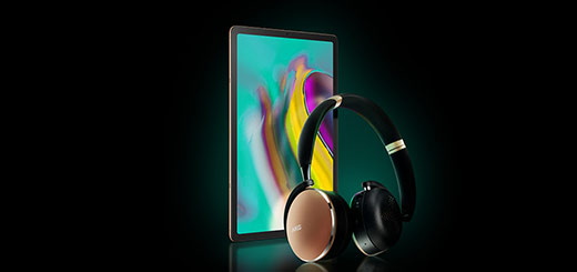 Harvey Norman - Stunning AKG headphones FREE with the Samsung Galaxy tab S5e