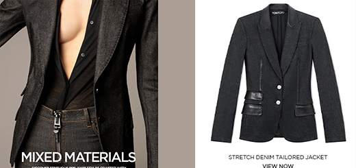 TOM FORD - MIXED MATERIALS