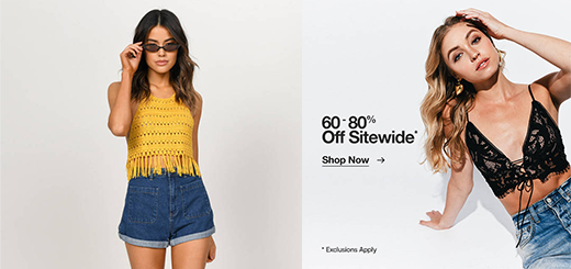 tobi – outfits under $75: 60-80% off sitewide