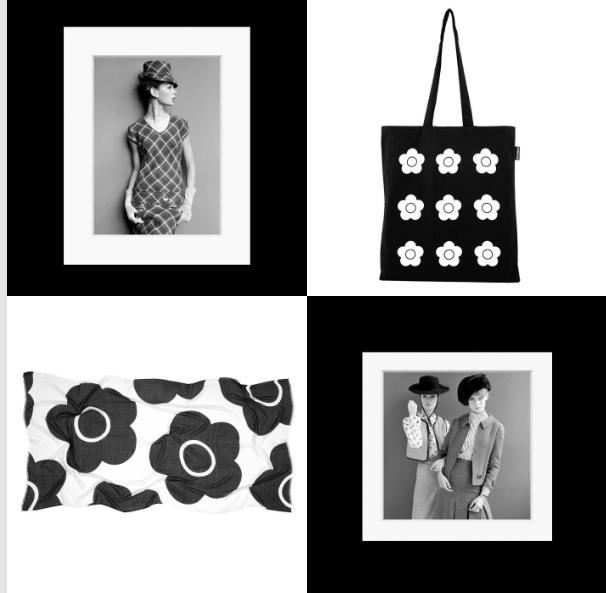 V&A Shop - Black and White 60s