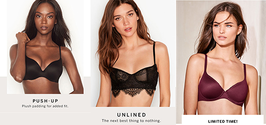 victoria's secret – all comfort. all day.