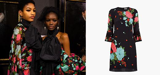 erdem – autumn winter 2019 – graphic florals