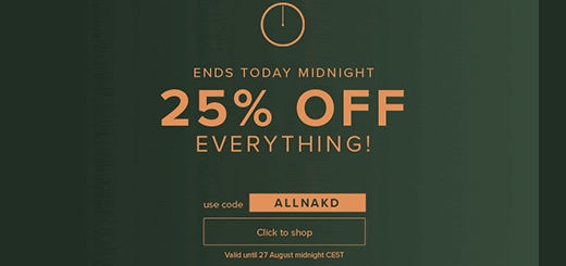 na-kd.com – last chance to get 25% off everything!
