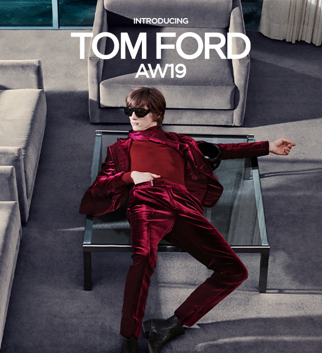 TOM FORD - MEN'S AUTUMN/WINTER 2019 CAMPAIGN