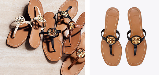 Tory Burch - The Sandal Shop: new Millers