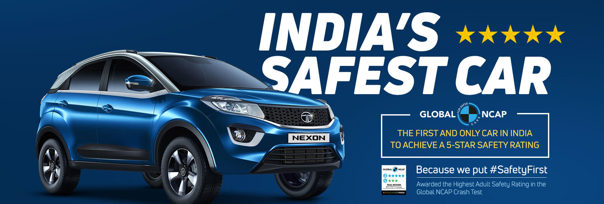 Tata Nexon - Made to Protect You on the Road