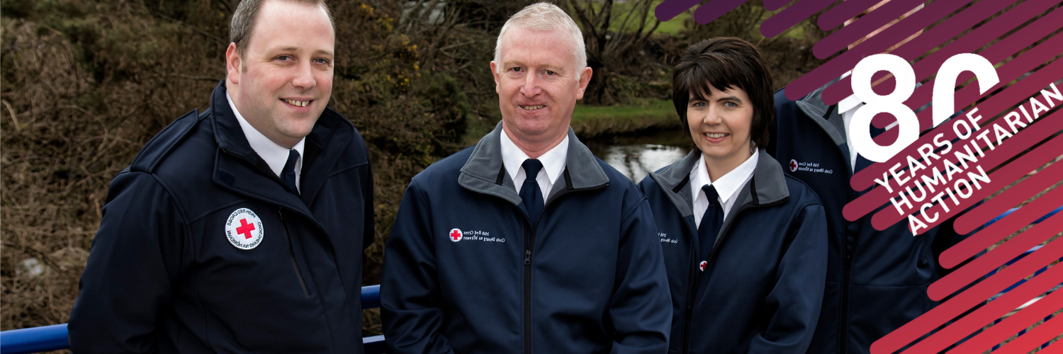 Alison - Please join Alison in celebrating 80 years of the Irish Red Cross
