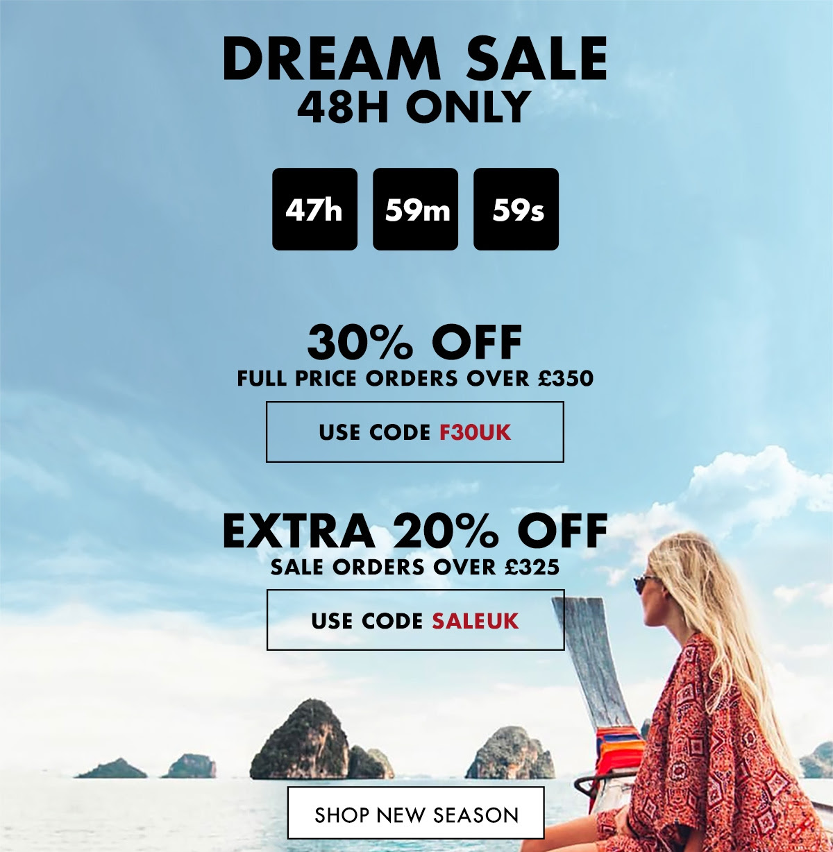 FORZIERI - few hours left for DREAM SALE