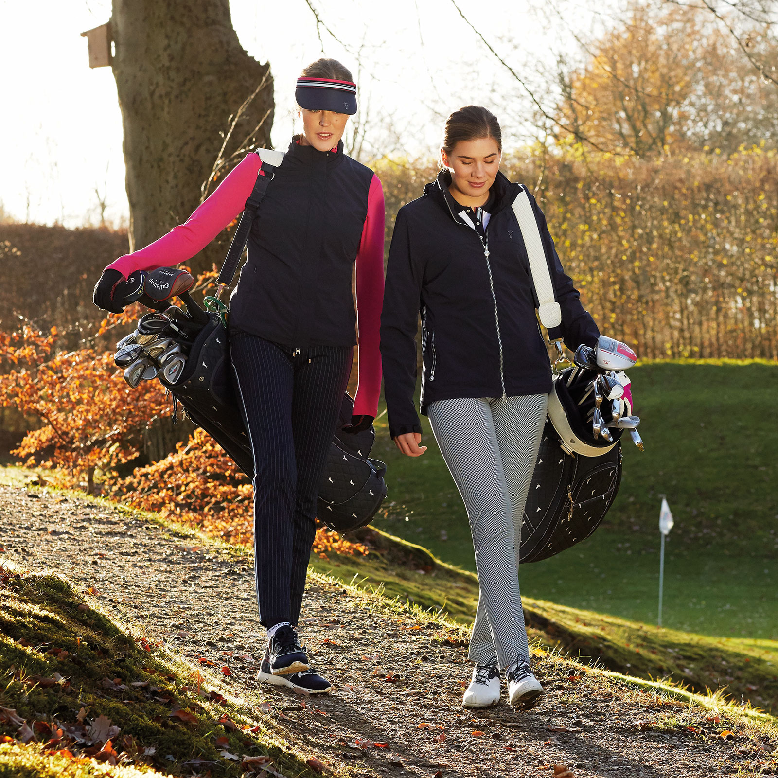 GOLFINO News - Outfits of the Month: Trendy looks for active golfers